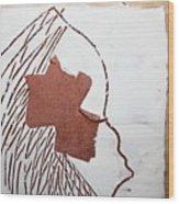 Drowsy - Tile Wood Print