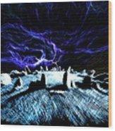Druid's Circle, Night Wood Print