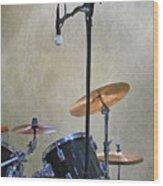 Drummers Joy Wood Print