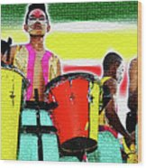 Drums Wood Print