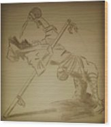 Drunken Mastery  Wood Print