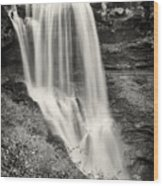Dry Falls - Blue Ridge Mountains - Number Two Wood Print