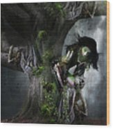 Dryad's Dance Wood Print