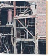 Dte Marysville Michigan West Wall Wood Print