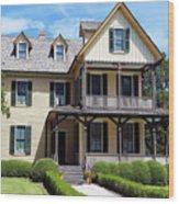 du Bignon Cottage Wood Print