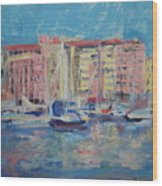 Du Port Wood Print