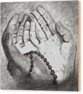 Dua -hands Of Faith No. Six Wood Print