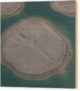 Dubai World Islands In Dubai, Uae Wood Print