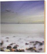 Dublin Bay Wood Print