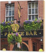 Dublin Ireland - Palace Bar Wood Print