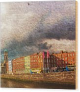 Dublin's Fairytales Around  River Liffey 2 Wood Print