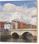 Dublin's Fairytales Around  River Liffey 3 Wood Print