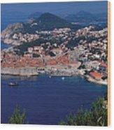 Dubrovnik Croatia Wood Print