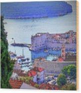 Dubrovnik Wood Print