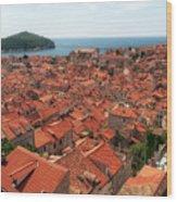 Dubrovnik Old Town Wood Print