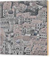 Dubrovnik Rooftops #2 Wood Print