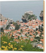 Dubrovnik, The Walled Old City Wood Print