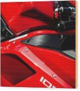 Ducati 1098 Motorcycle -0893c Wood Print