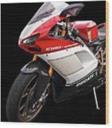 Ducati 1098s Motorcycle Wood Print