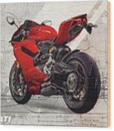 Ducati 1199 Panigale Wood Print