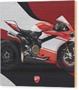 Ducati 1299 Superleggera Wood Print