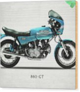Ducati 860 Gt 1975 Wood Print