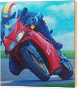 Ducati 916 Wood Print