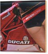 Ducati Model Wood Print