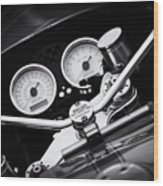 Ducati Ps1000le Detail Wood Print