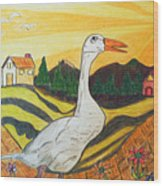 Duck Season Could Be Wood Print