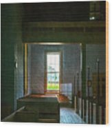 Dudley's Chapel Window - Painting Effect Wood Print