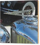 Duesenberg Hood Ornament  Wood Print