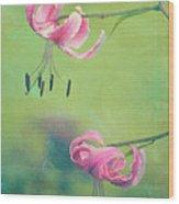 Duet - V01a Wood Print