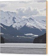 Duffy Lake Scenery Wood Print