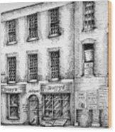 Duffys Antique Shop Parnell Street Dublin  Wood Print