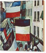 Dufy: Flags, 1906 Wood Print