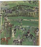 Dufy: Race Track, 1928 Wood Print
