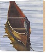 Dugout Wood Print