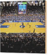 Duke Blue Devils Cameron Indoor Stadium Wood Print by Replay Photos
