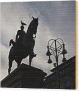 Duke Of Wellington Statue  Wood Print