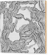Dulcinea Wood Print
