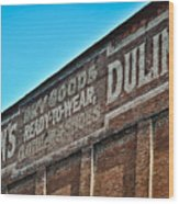 Dulin's Dry Goods Wood Print
