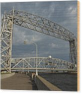 Duluth Lift Bridge 2 Wood Print