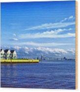Duluth Minnesota Harbor Wood Print
