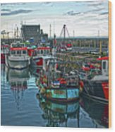 Dun Laoghaire 15 Wood Print