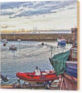 Dun Laoghaire 19 Wood Print