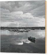Dun Laoghaire 21 Wood Print