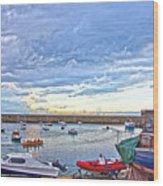 Dun Laoghaire 24 Wood Print