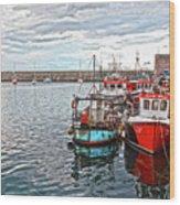 Dun Laoghaire 27 Wood Print