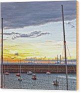 Dun Laoghaire 30 Wood Print